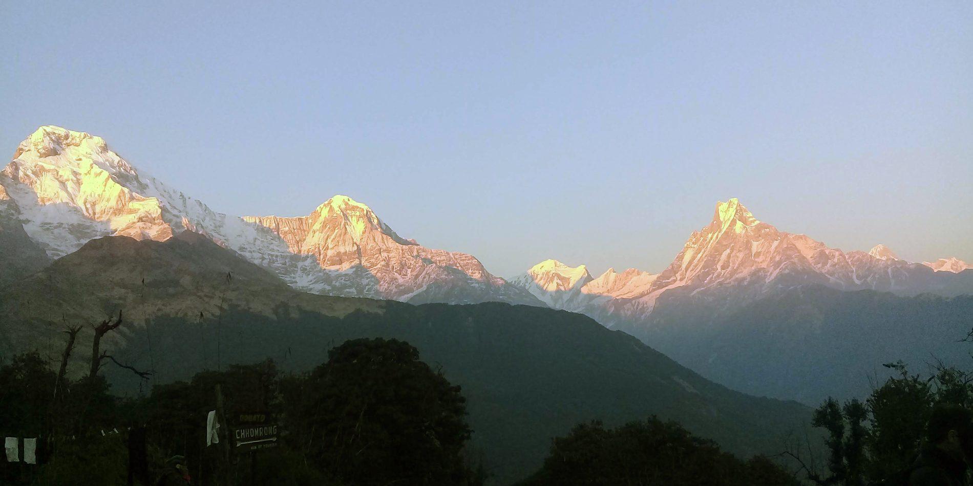 Annapurnas and Fishtail