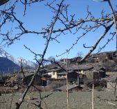 A village of Tsum Valley