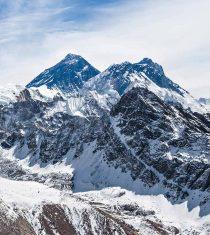 Mt. Everest and Mt. Lhotse