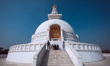 World Peace Pagoda - Buddhist Circuit Nepal Tour