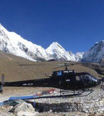 Everest heli trek
