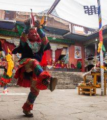 Mask Dance during Mani Rimdu