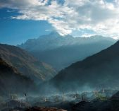A village of Tamang Heritage Trail